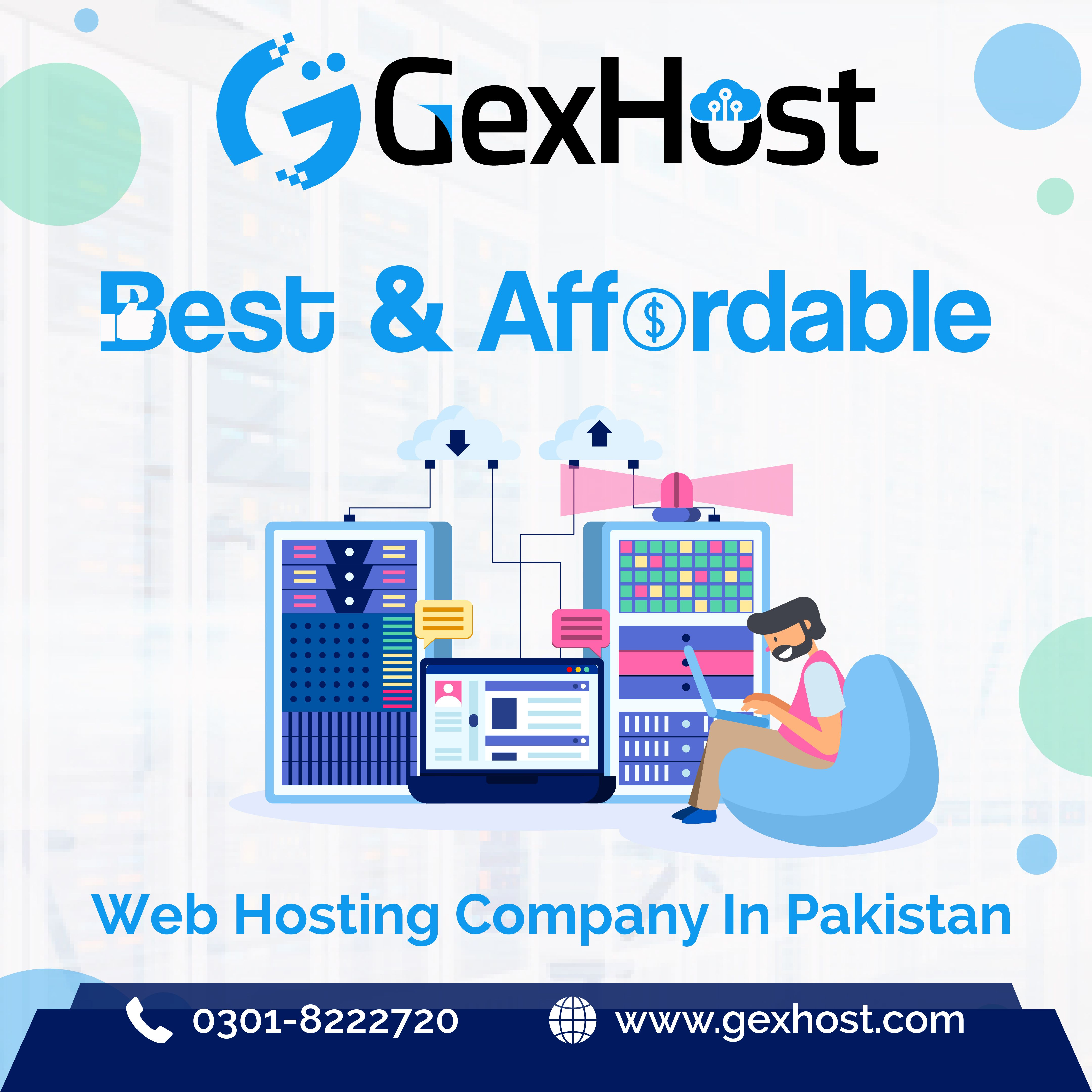 GexHost offer web hosting at the cheap price, Grab this
