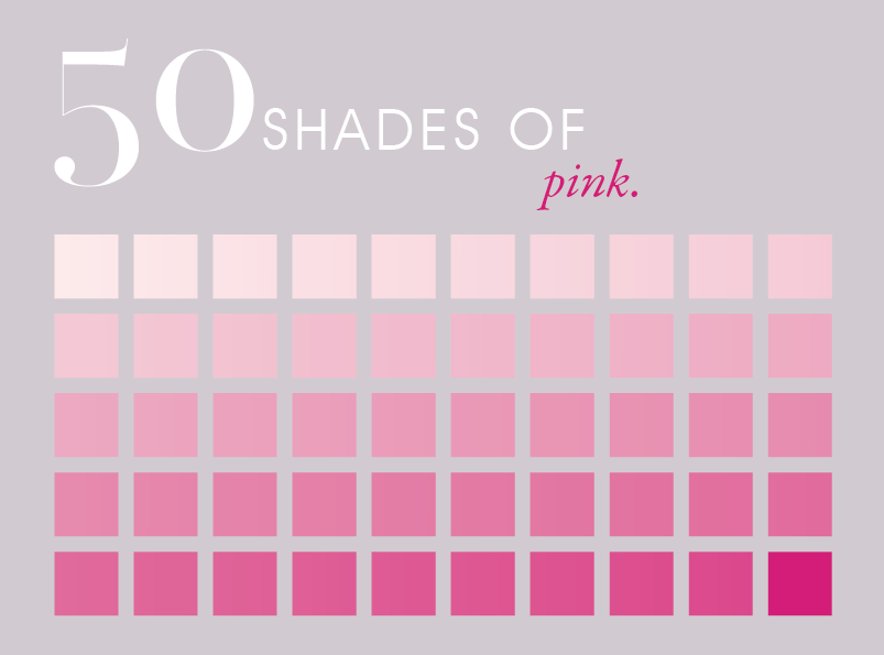 Fifty Shades Of Pink Finally Pink Galor Think Pink Pinterest