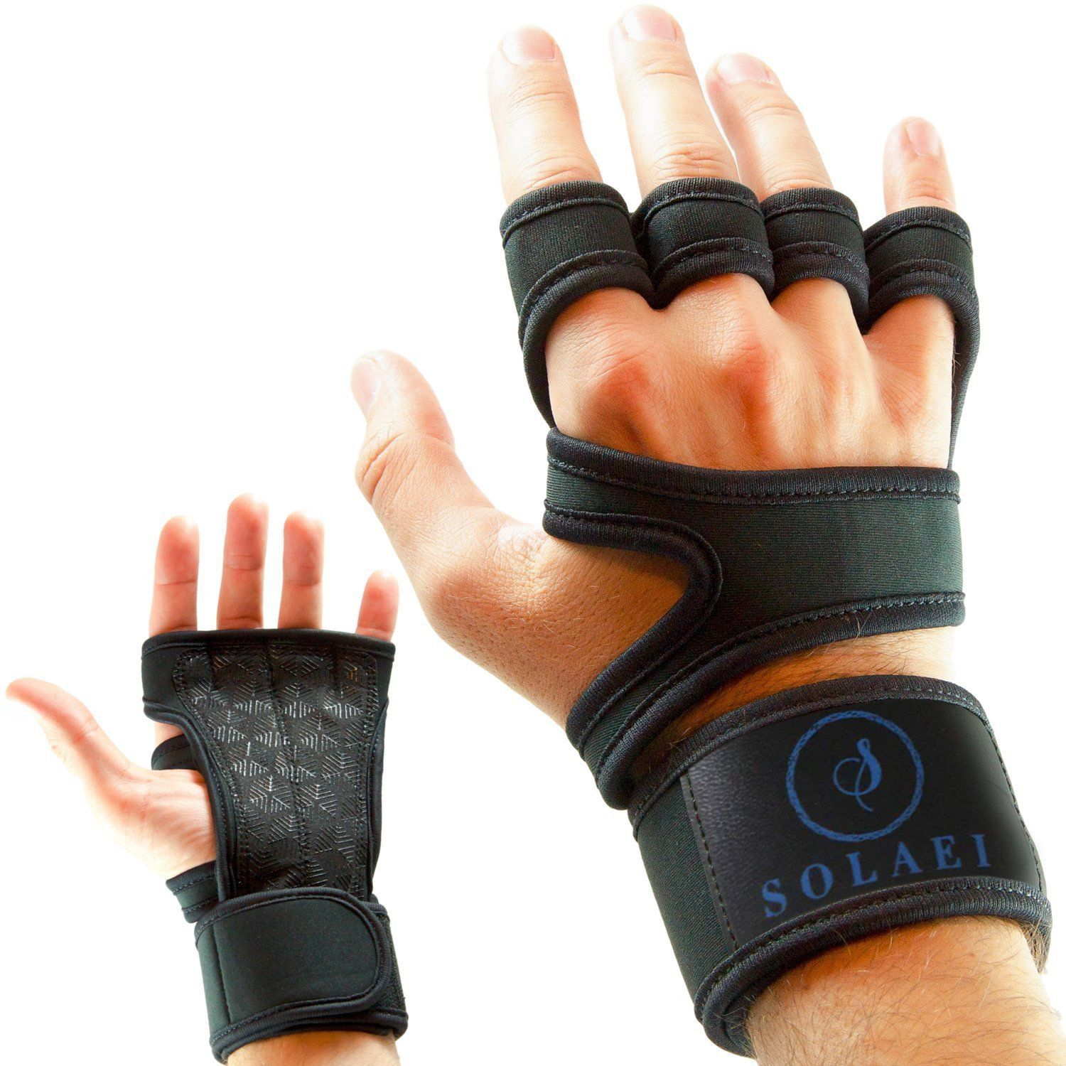 Gymnastics Weightlifting Gym Workout WOD Slip Resistant Palm Padding to avoid Calluses - Suits both Men /& Women Cross Training Gloves with Wrist Support for Fitness Powerlifting
