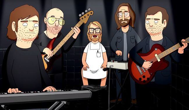 Exclusive The National Covers The Bathroom Song From Bob S Burgers Animated Characters Bob S Bobs Burgers