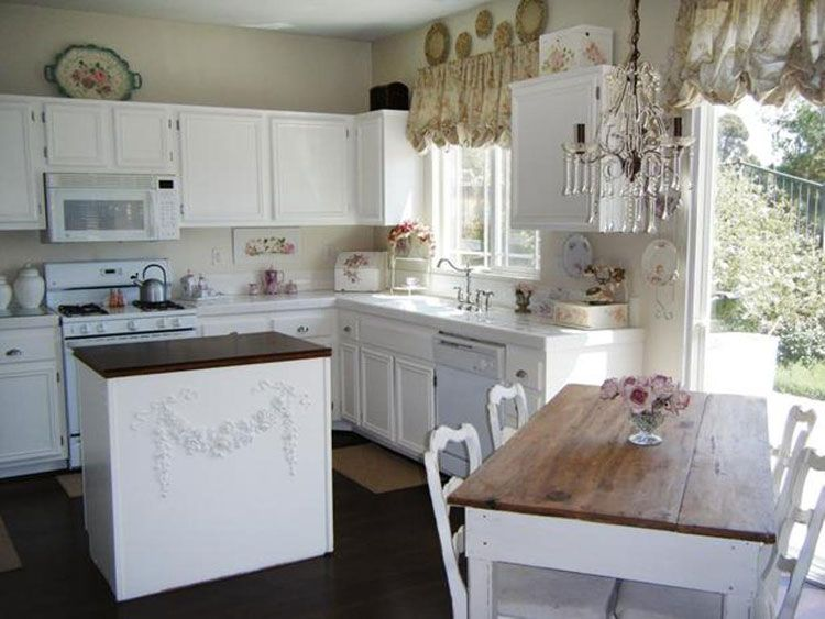 Cucine Shabby Chic: 30 Idee per Arredare Casa in Stile Provenzale
