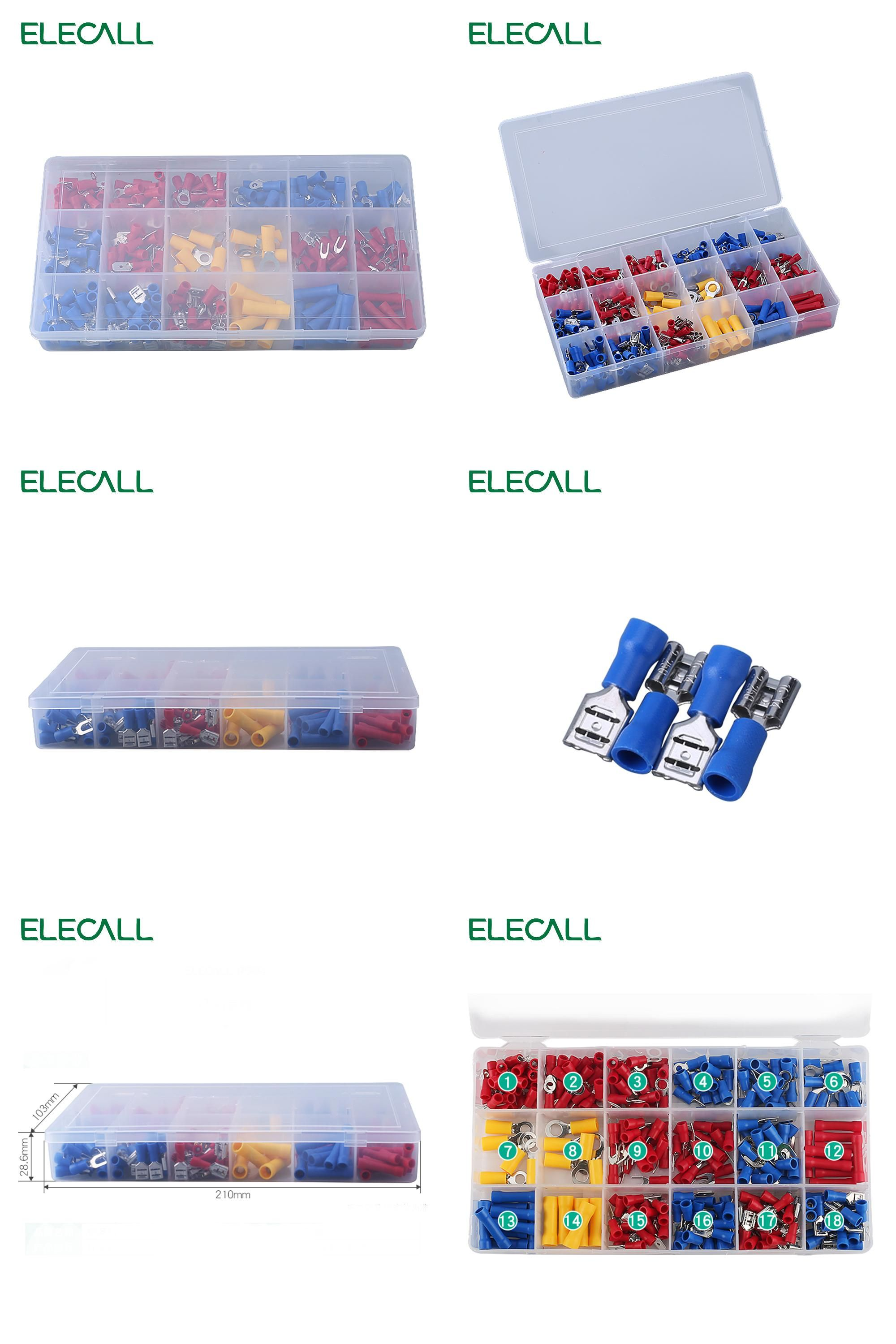 Visit to Buy] 295Pcs/ Box 18 In 1 Insulated Terminals Spade Ring ...