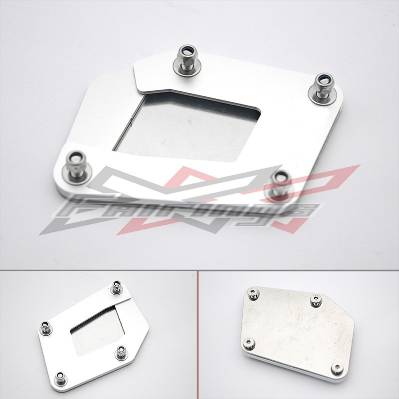 37.72$  Watch now - http://alidcc.shopchina.info/go.php?t=32787577077 - Sidestand Kick Foot Stand CNC Aluminium Fit for BMW R1200GS 2005  #magazineonlinebeautiful
