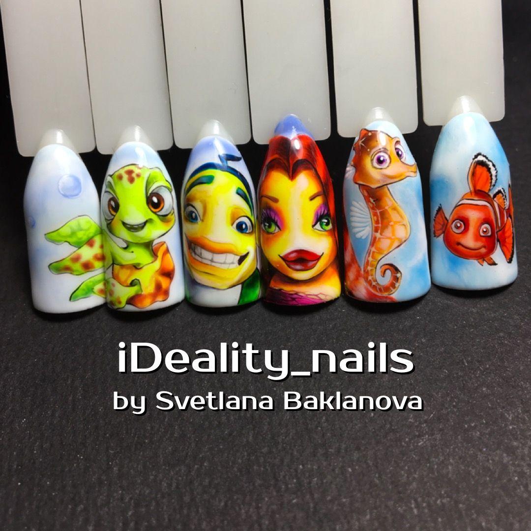 Pin von Baklanova Svetlana Alekseevna auf МК ногти Nails naildesign ...