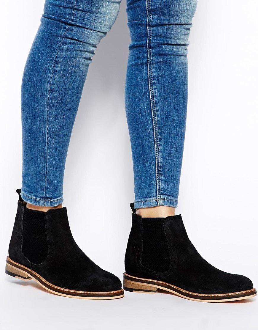 shoes, Suede chelsea boots, Cute shoes