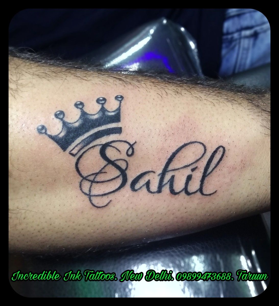 Sahil Crowntattoo Name Tattoo Sahil Name Tattoo Call Whatsapp
