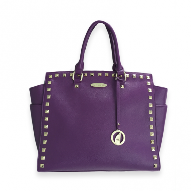 London Purple Tote auch by azennatti.ch