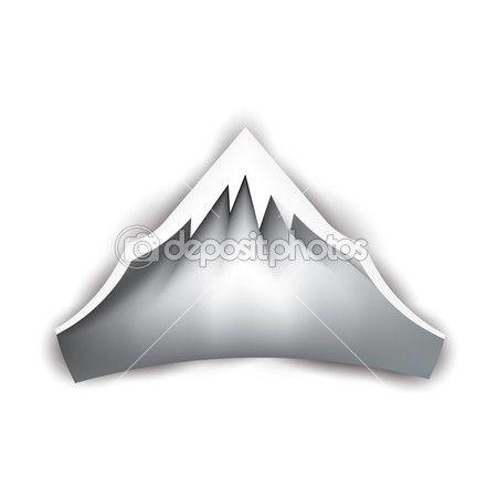 Mountain Peak Logo — Stock Vector #30463105