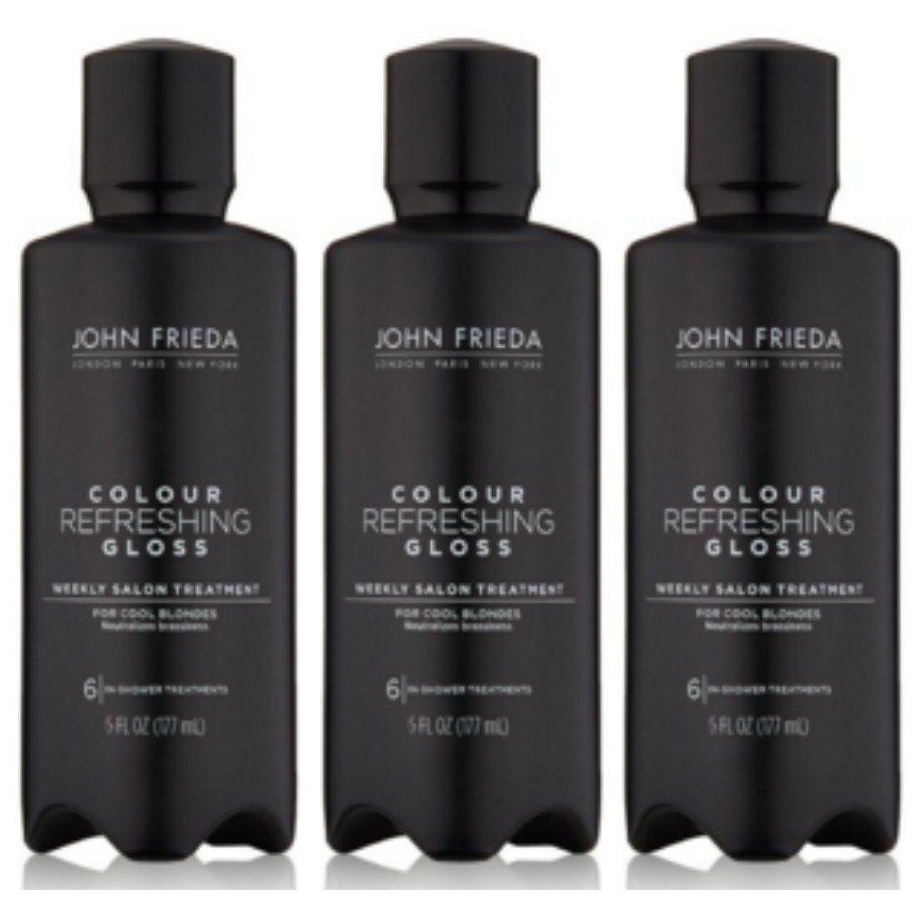 Lot of  John Frieda Precision Foam Hair Color Glosser Cool Blonde