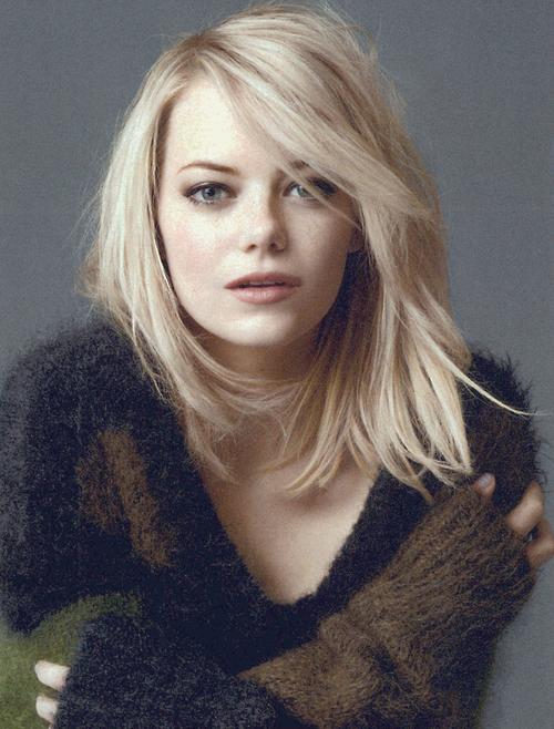 Hair Color Emma Stone Hair Emma Stone Blonde Actress Emma Stone
