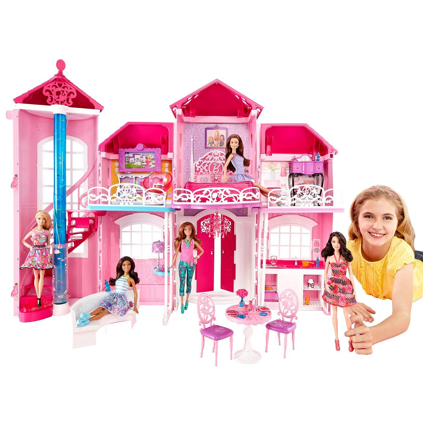 Barbie Malibu House read reviews and online at ASDA Direct