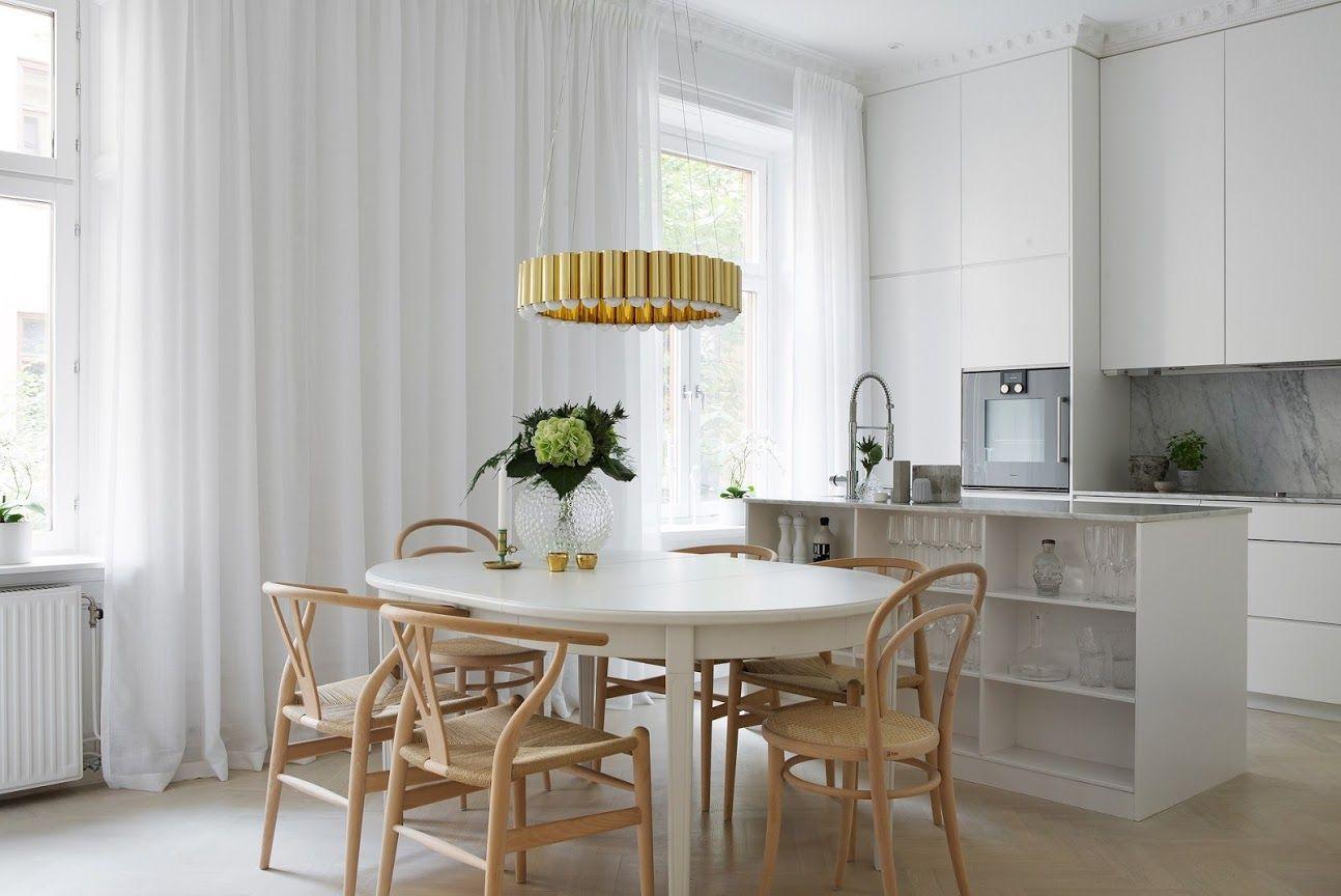 Cómo Introducir El Dorado En La Decoración Nórdica Entrancing Eldorado Dining Room Decorating Inspiration