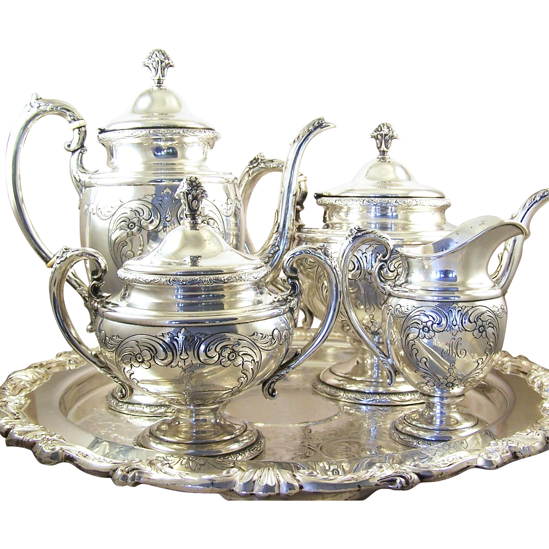 TOWLE 'Old Master' STERLING 4Piece Coffee and Tea Service
