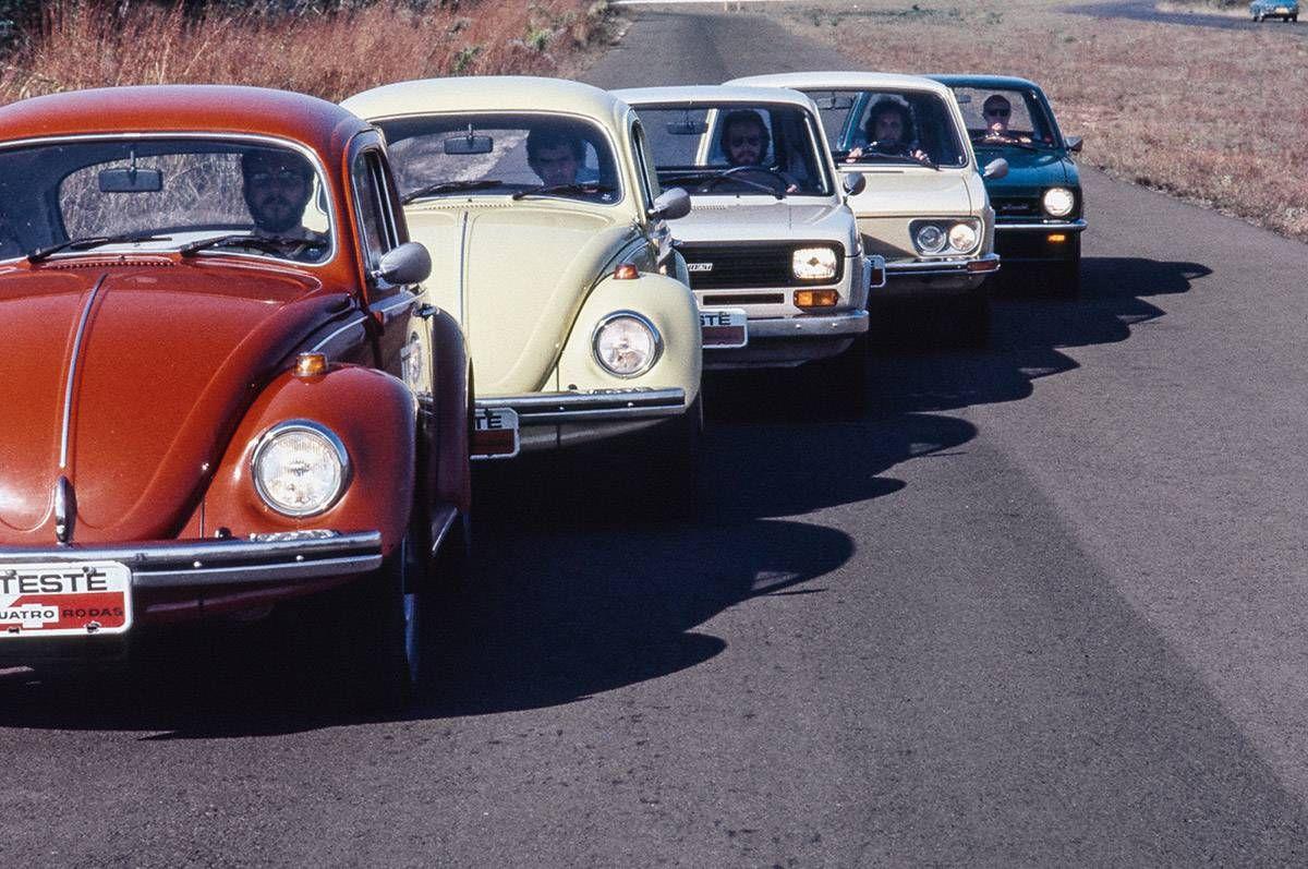 Comparativo Fusca X Fiat 147 X Brasilia X Chevette Antique Cars
