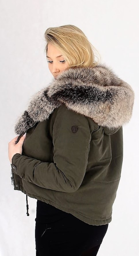 Paulina 2019 Dysk Google Fur Parka Fashion Winter Jackets