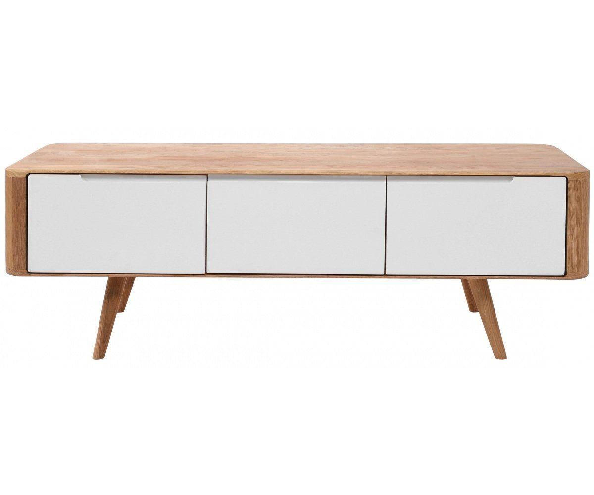 lowboard eiche wei sideboard tv schrank k che haushalt interior schrank tv. Black Bedroom Furniture Sets. Home Design Ideas