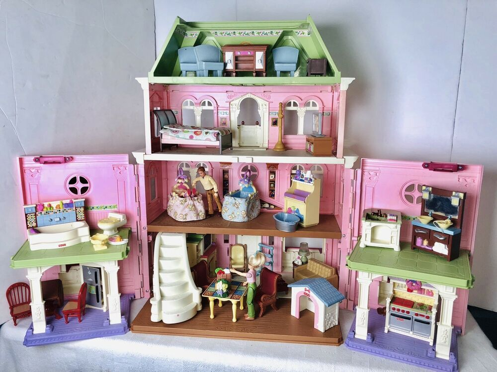 Fisher Price Loving Family Grand Mansion Dollhouse and ...
