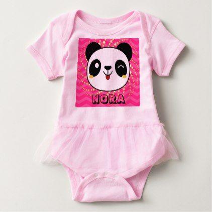 Panda personalized baby tutu baby bodysuit panda personalized baby tutu baby bodysuit shower gifts diy customize creative negle Choice Image