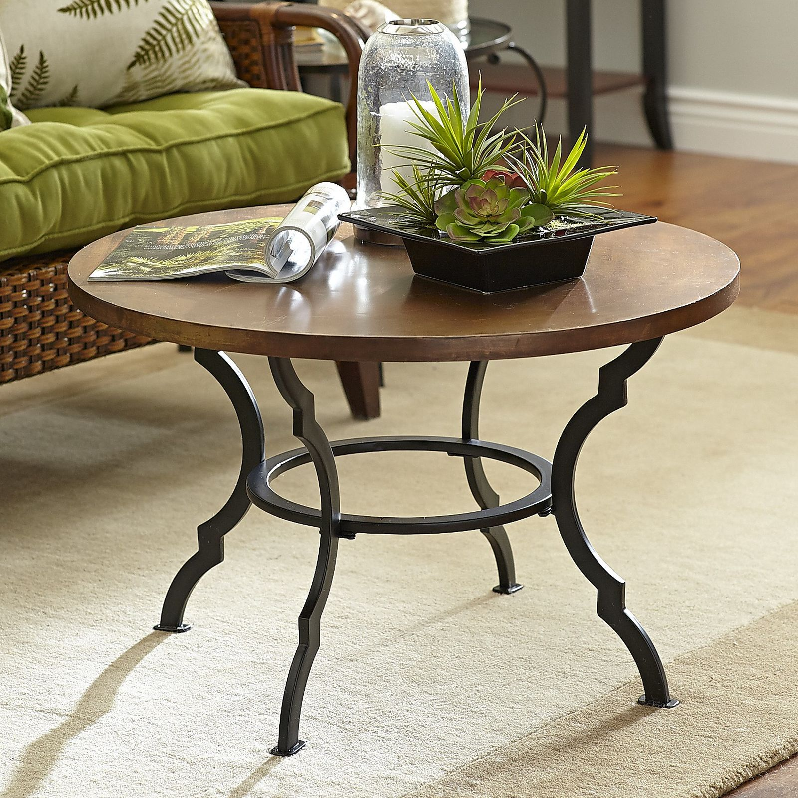 One on clearance at our Pier 1 --- Colton Round Coffee Table | Pier 1 Imports | Round coffee ...