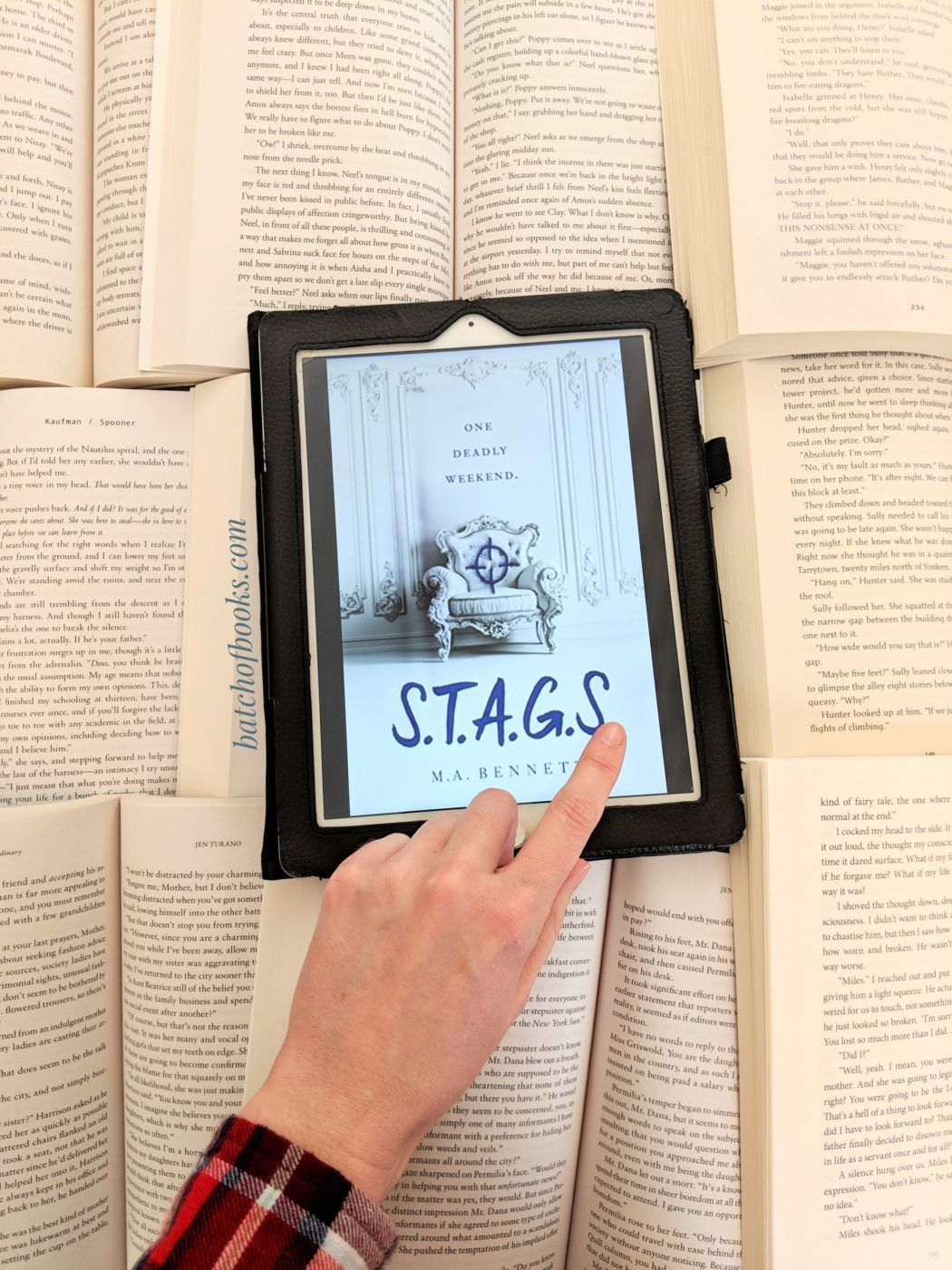 S T A G S By M A Bennett Kept Me Guessing Until The Very End A