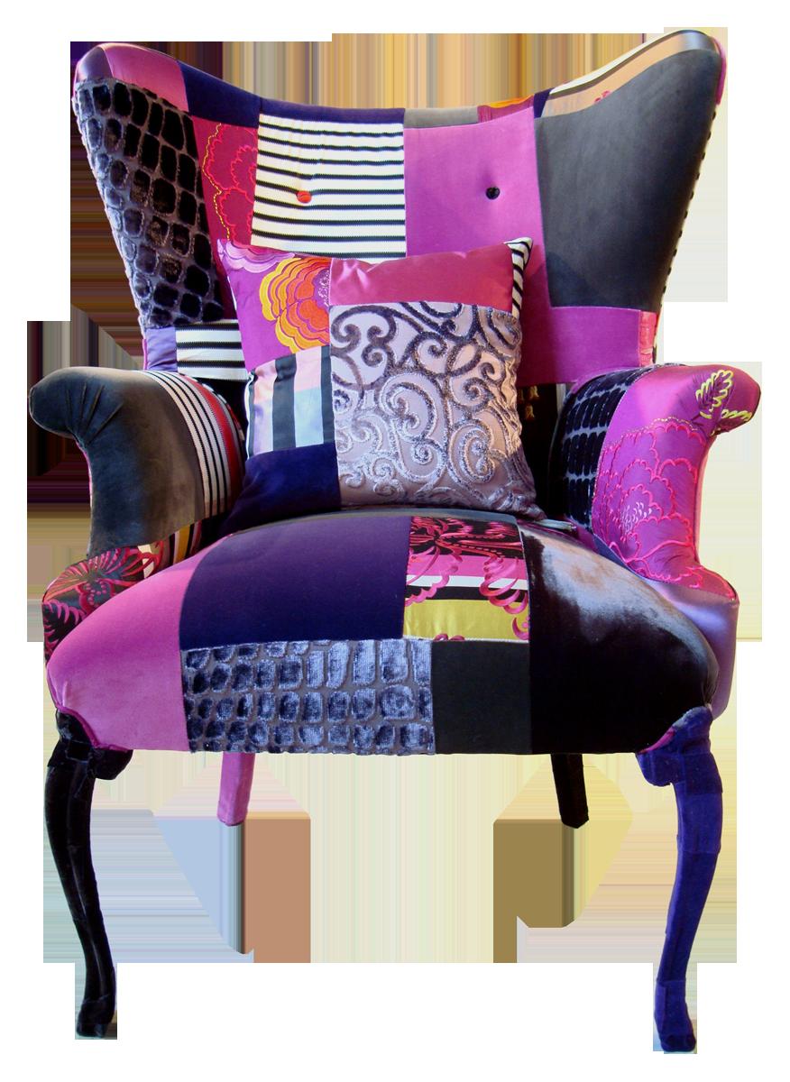 Colorful Furniture · Purple Armchair ...