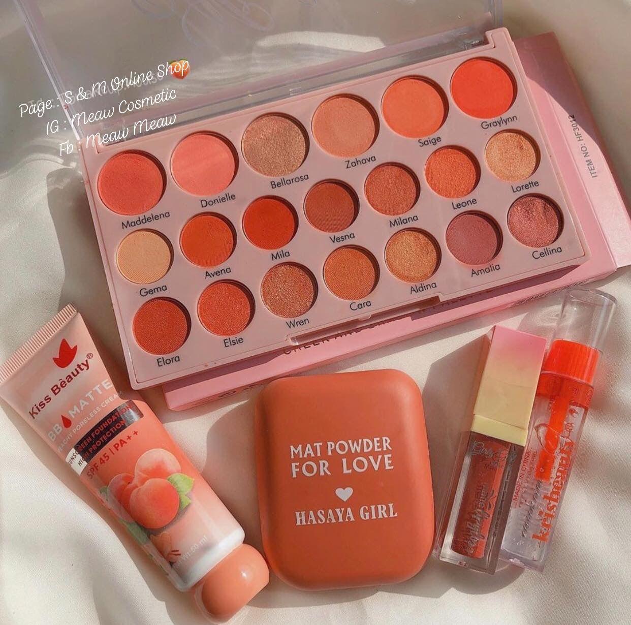 IG: slave2beauty   #makeup   Fancy cosmetics, Peach makeup