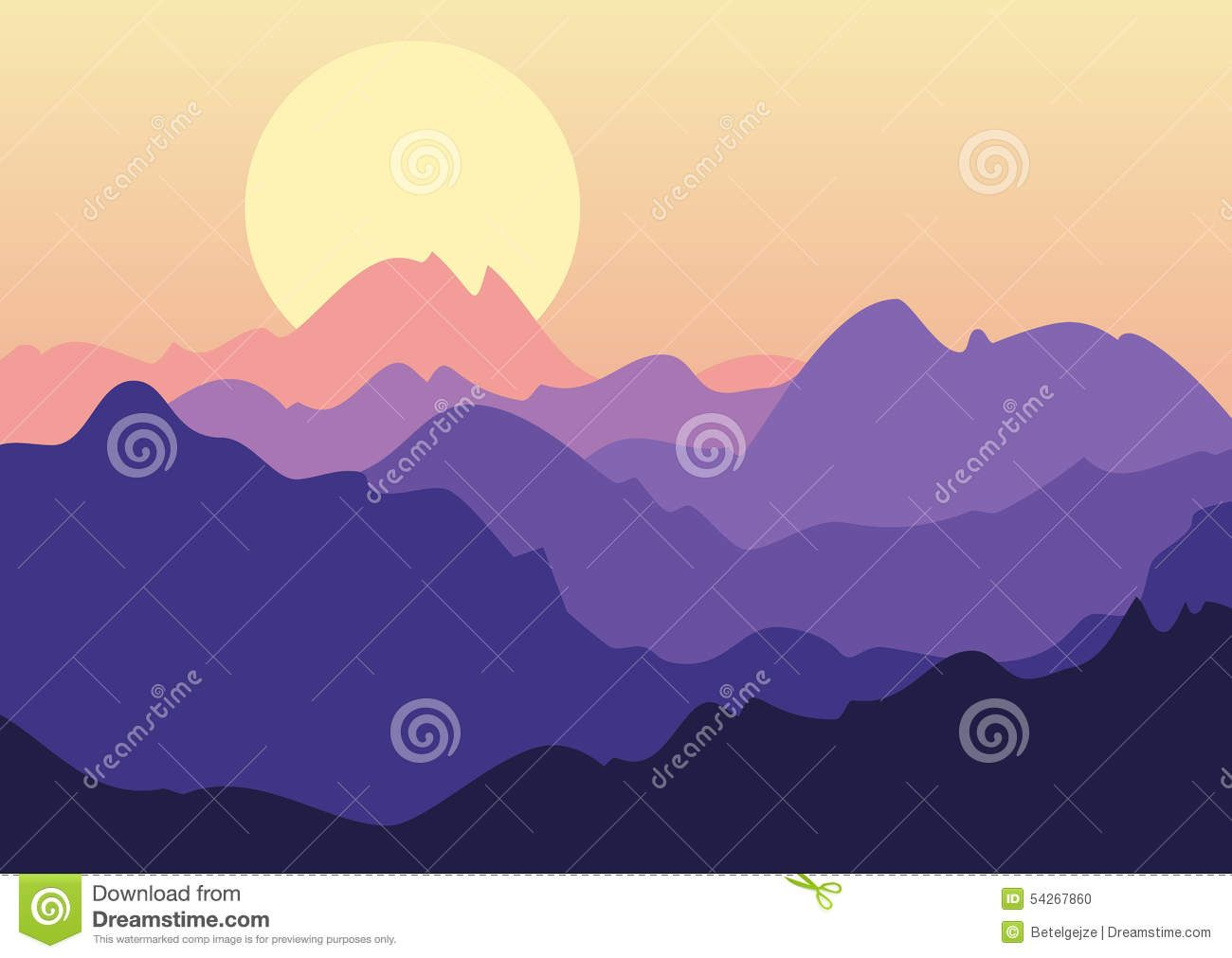 Image Result For Sunset Cloud Vector