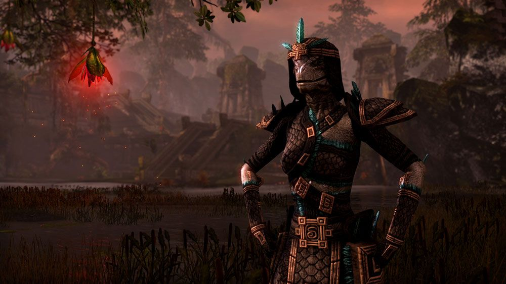 The Elder Scrolls Online Argonian With Images Elder Scrolls