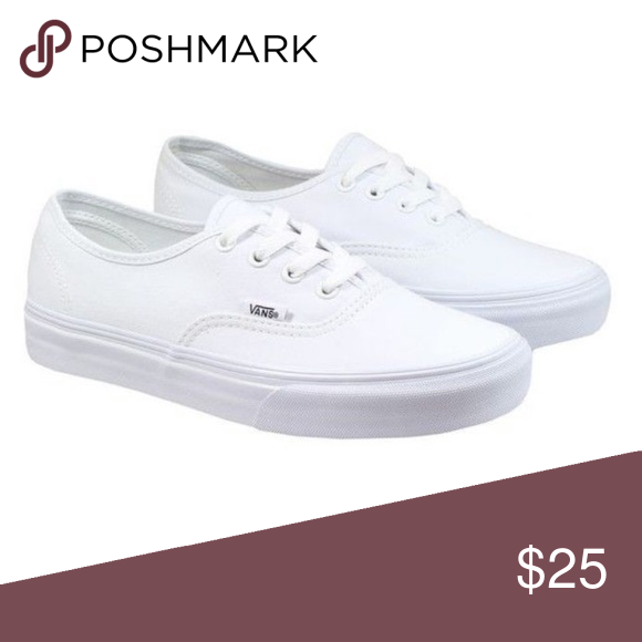 9376dcfe828030 Women s White Vans Size 8 Women s White Vans Size 8 Will post more pics  today Vans Shoes Sneakers