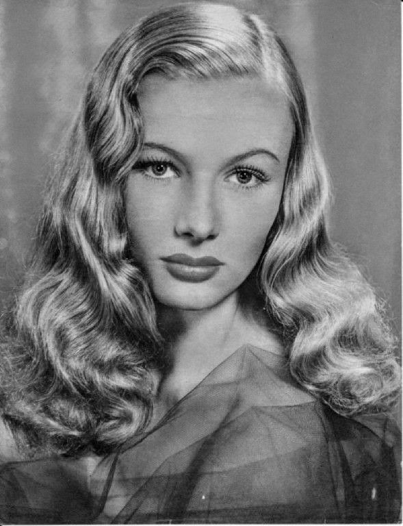 Stunning Veronica Lake! 1940s Classic Hollywood Star
