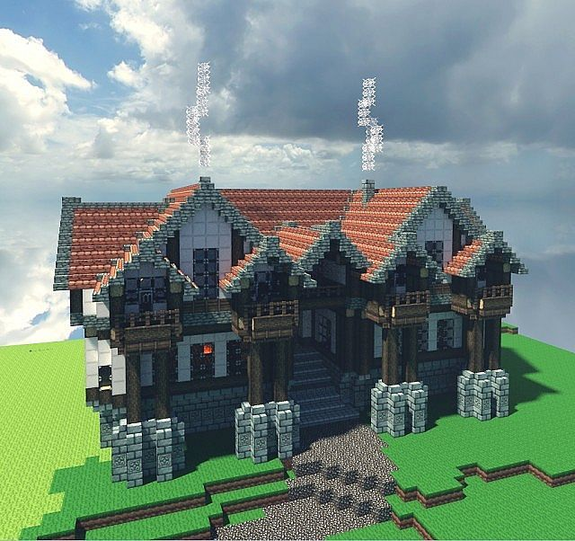 Minecraft Medieval Tavern