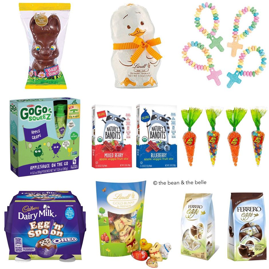 More easter basket treats easter baskets and easter holiday easter basket ideas negle Image collections