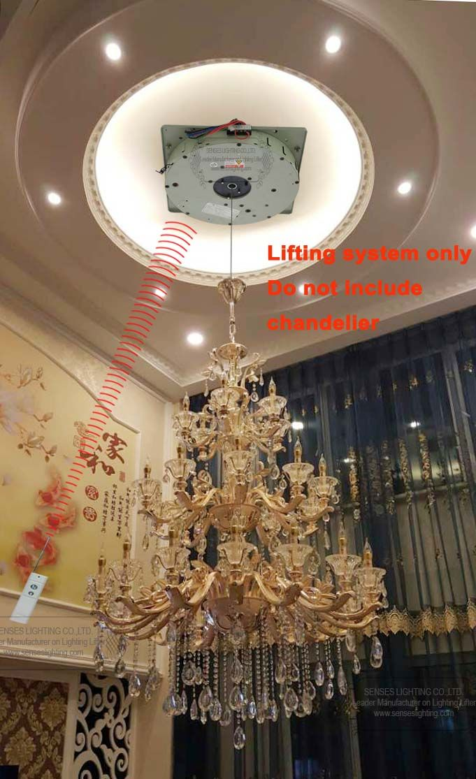 Auto remote controlled chandelier winches chandelier lift chandelier auto remote controlled chandelier winches chandelier lift chandelier hoist ddj250 max rated weight 250kgs mozeypictures Gallery