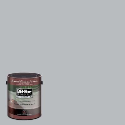 Behr French Silver Eggshell Finish Paint Hall Bathroom