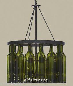 Wine Bottle Chandeliers Pottery Barn Chandelier New Ebay