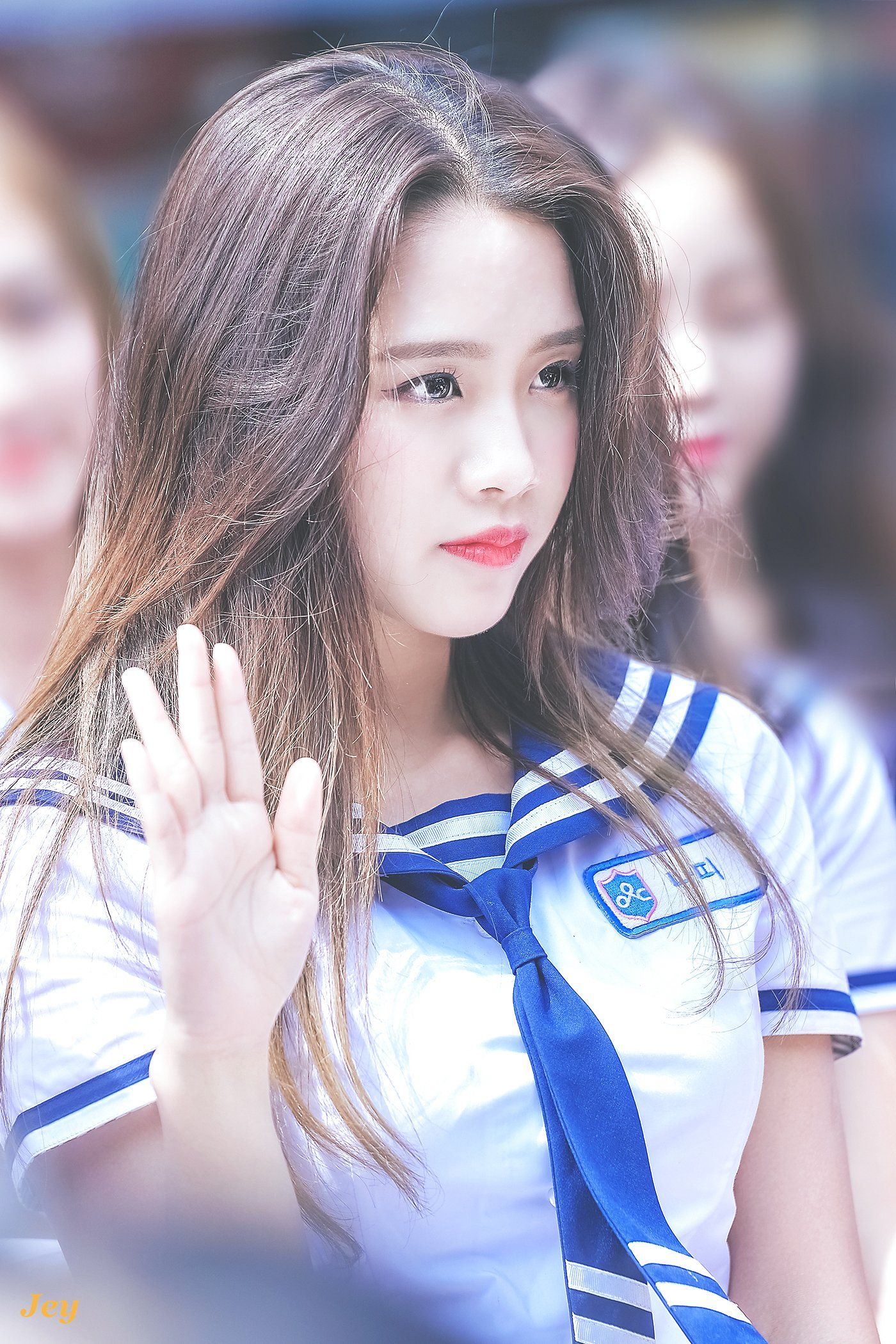 Idolschool Nati Ex Jyp Sixteen Pop Hair Beauty Girl