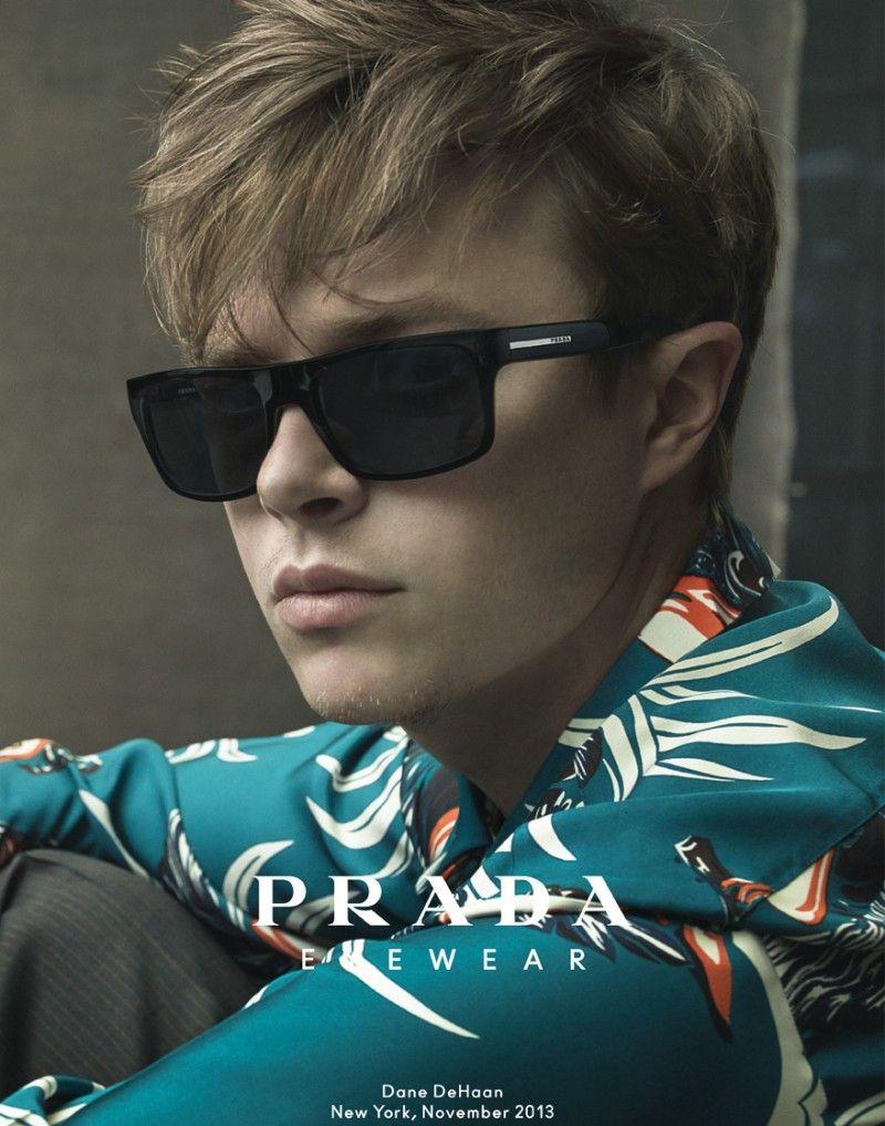 4e6eee77ad19 Dane DeHaan for Prada Spring/Summer 2014 Eyewear Campaign | Pretty ...