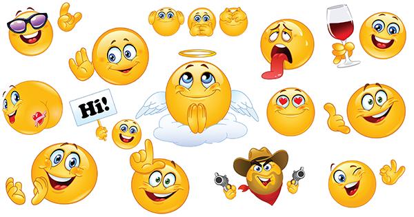 Cool Smileys For Facebook Cool Smileys Emoticons Pinterest
