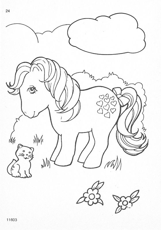 My Little Pony G1 Coloring Pages Cartoon Rhpinterest: My Little Pony Coloring Pages Vintage At Baymontmadison.com