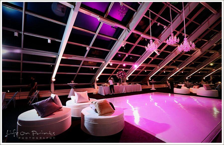 Adler Wedding Reception Purple Theme by Life