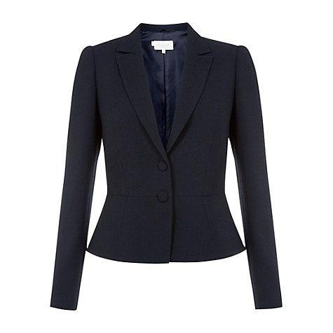 Hobbs navy jacket