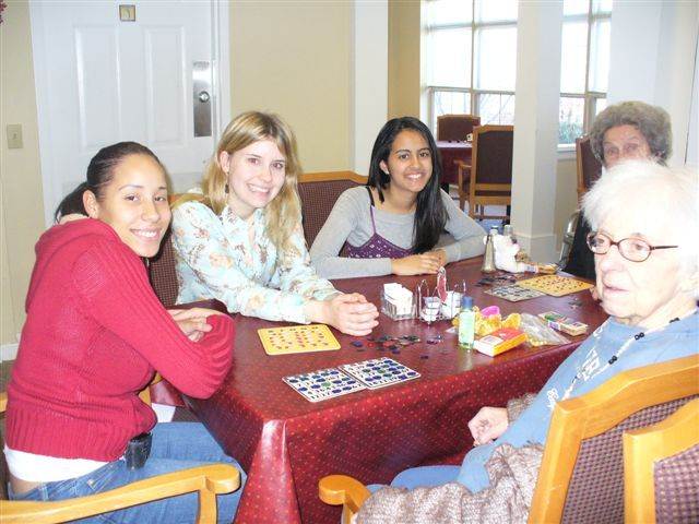 Nursing home community service projects