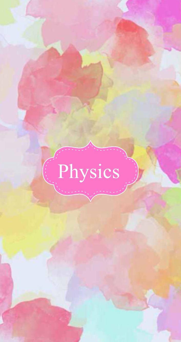 Physics Binder Cover Binder Covers Binder Covers Cute