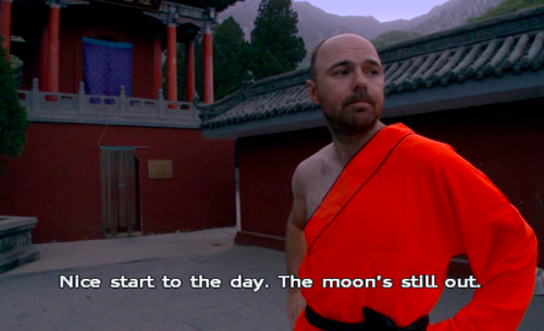 When he questioned the start of the day. | 24 Times Karl Pilkington Made Way Too Much Sense