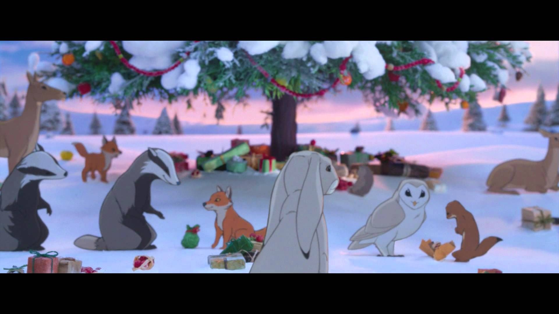 [ John Lewis Christmas Advert 2013 - The Bear & The Hare ]