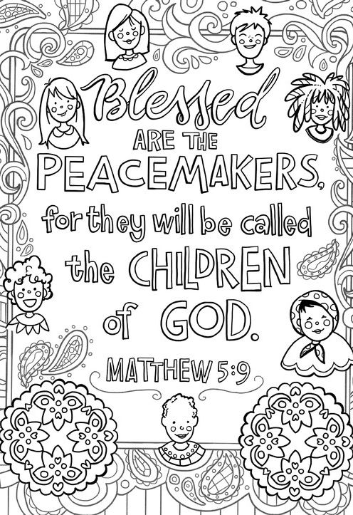 Patterns For Peace Over 25 Peace Provoking Passages To Color