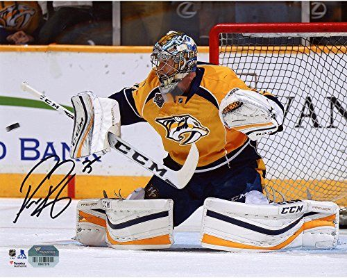 outlet store 15985 44cab Predators Pekka Rinne Autograph | Cool Nashville Predators ...