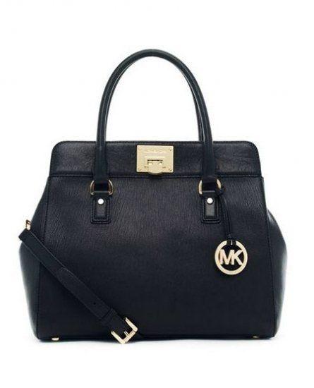 79d0238f9e2 Michael Kors Handbags UK Astrid Large Satchel Black Leather ...