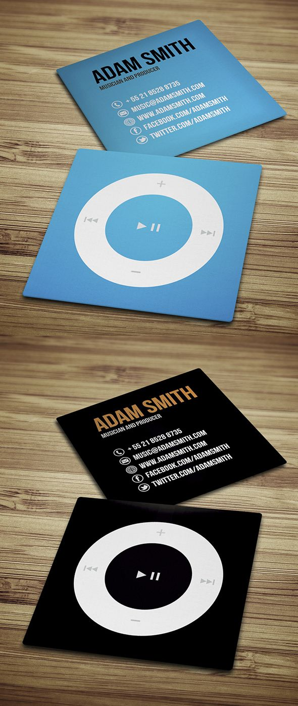 40 Creative Mini Square Business Cards Design Photo | Creative ...