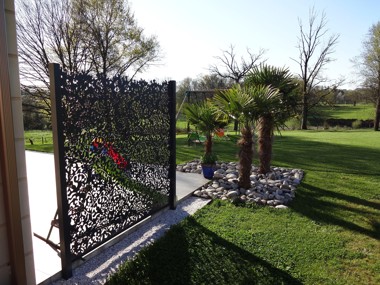 Rebeyrol rebeyrol cr ateur de jardins brise vue brise vue d coratif paysagiste limoges - Vue de jardin ...